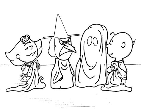 halloween coloring pages peanuts snoopy halloween coloring pages treasured sheets colorine