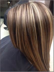 chunky highlights for hair images brown hair with chunky blonde and auburn highlights