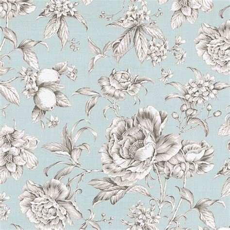victorian curtain fabric light blue floral toile sateen fabric victorian