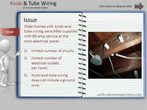 Buying a Home with Knob and Tube Wiring   YouTube