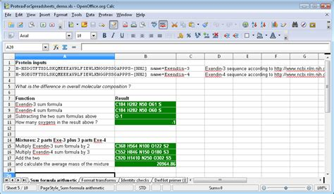 Spreadsheets Functions by Spreadsheet Using Formulas Functions And Formatting Tools