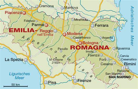 in romagna emilia romagna weinregion und weinanbaugebiet in italien