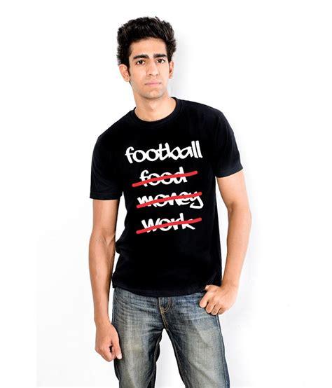 T Shirt Kaos Football Addiction By Wonebi enquotism football addicted black t shirt buy enquotism football addicted black t shirt