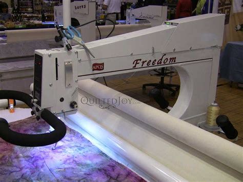 Longarm Quilting by Used Arm Quilting Machine From Apqs