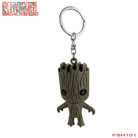 Keychain Groot 3 new blind bag marvel comics guardians of the galaxy groot