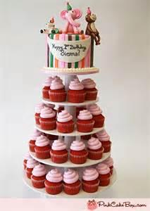 birthday cupcake stands 187 pink cake box custom cakes amp more
