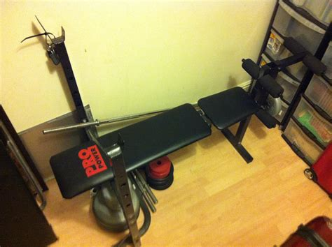 york 250 sit up bench ot weight set and bench lfgss