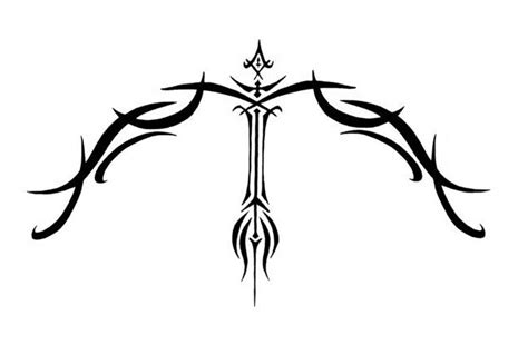tribal bow and arrow tattoo 5 bold bow and arrow designs for