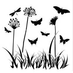 craft stencil butterfly meadow 15cm x 15cm perfect for