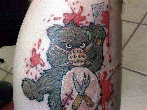 murder tattoo designs teddy ideas and teddy designs page 7