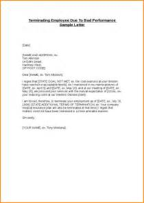 Employee Letter Of Termination by 11 Letter Of Termination Of Employment Mac Resume Template