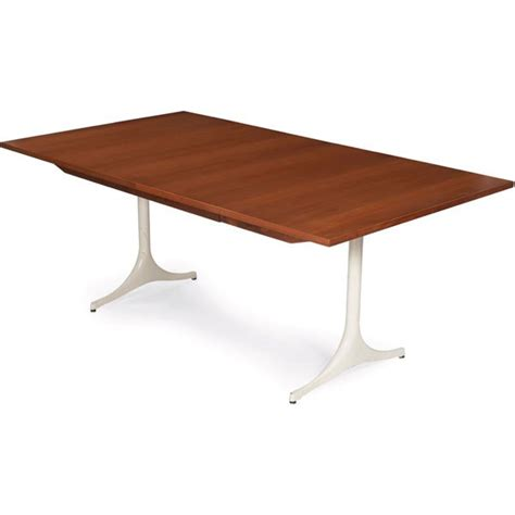 1013 george nelson pedestal dining table herman mille