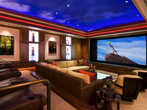 home theater design ideas hgtv