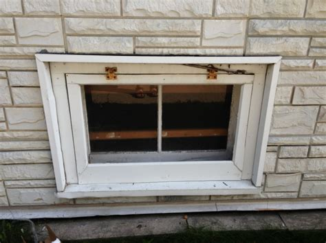 basment in installing replacement vinyl window blockmaster