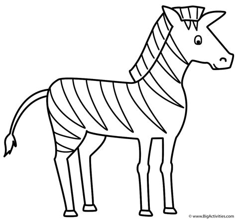 coloring pages animals zebra zebra coloring page animals