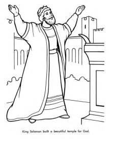 King David Coloring Pages Bible Page For Kids To  sketch template