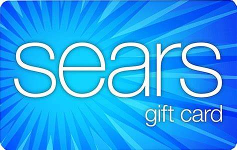 Sears Gift Card Balance - sears blue egift cards