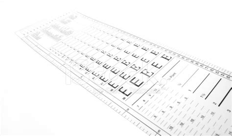 Typography Ruler Stock Photos Freeimages
