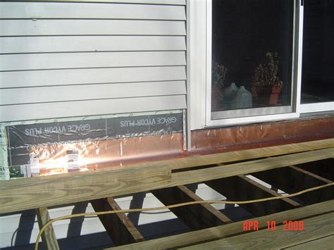 Learn how to properly install a waterproof deck ledger
