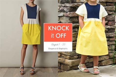 7 Knock Wear by Sweeter Than Cupcakes Knock It Hide And Seek Dress