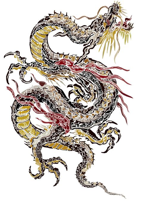 traditional japanese dragon tattoo designs picture own