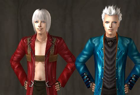 mod the sims dante devil may cry 4 sims 2 dante and vergil by vireprincess13 on deviantart