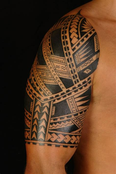 short tattoo designs sleeve tribal fantastic