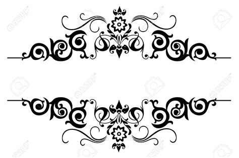 floral background design black and white clipartsgram com