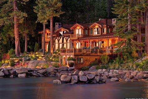 larry ellison house larry ellison tahoe house oracle billionaire s beautiful lakefront property for sale
