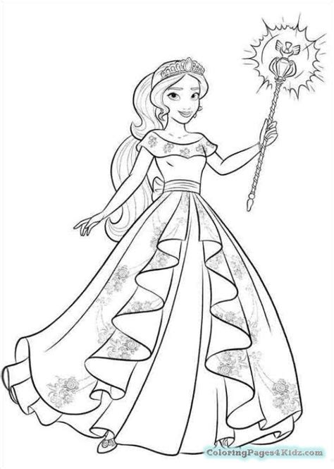 printable coloring pages elena of avalor elena of avalor playing guitar coloring pages coloring