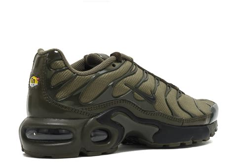 Air Plus air max plus gs quot olive cargo quot nike 655020 200 medium olive black loden flight club