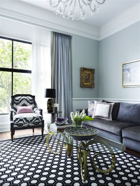 Blue Curtain Designs Living Room Inspiration How To Brighten Up A Bad View With Window Blinds Curtains And Shades