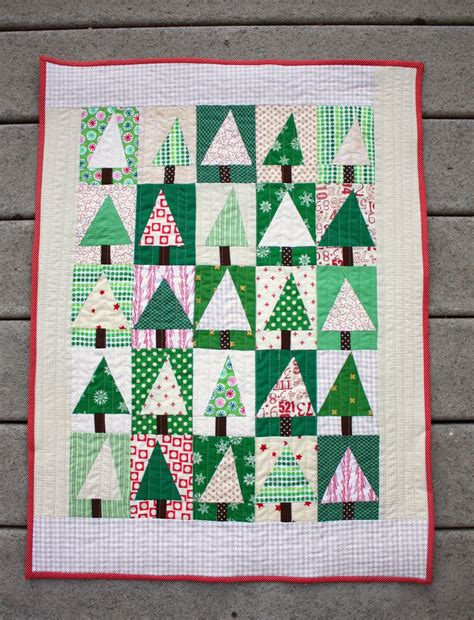 Patchwork Tree - quilt inspiration free pattern day quilts