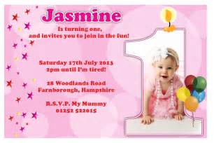 1st birthday invitations free template baby s 1st birthday invitation cards ideas