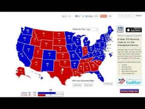2016 Presidential Election Predictions Map by 2016 Election Prediction Youtube