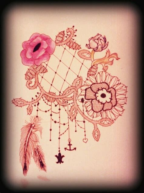dreamcatcher tattoo with words lace dreamcatcher a poem without words pinterest