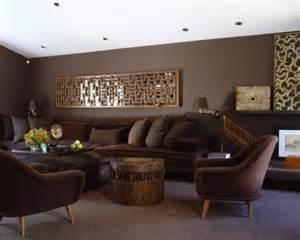 braune wohnzimmer ideen pintar las paredes de color marr 243 n chocolate decorar hogar