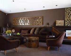 tan and red living room ideas – living room : Attractive Chocolate Sofa Living Room Ideas With Brown Leather Arms Sofa Set Also