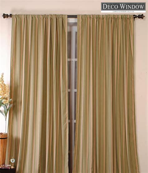 orange and white striped curtains deco window orange green striped curtain buy deco