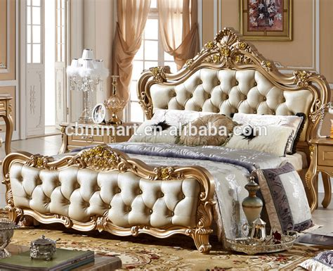 Gold Leaf Headboard by Antique Headboard Carved With Gold Leaf Italian Design Bed