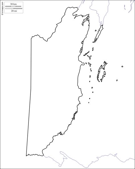 coloring page of map of belize blank map of belize my blog