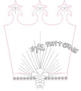 glinda crown template sparkle witch crown my two cents