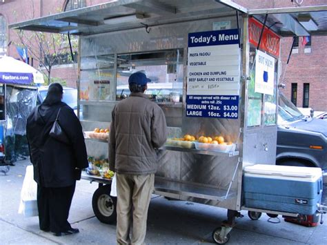 single word requests    call  place  sells street food english language