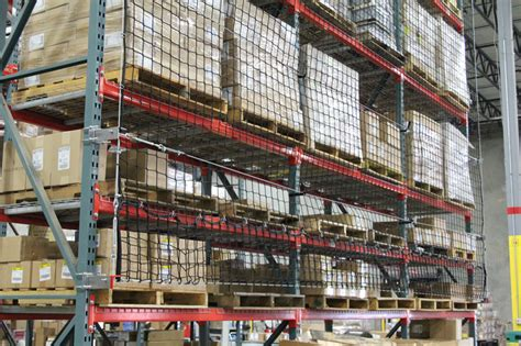 Pallet Rack Netting by Unarcopallet Rack Accessories For Warerehouse Storage