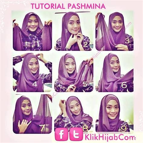 tutorial hijab simple modern 115 best images about hijab tutorials on pinterest