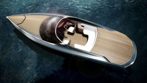 this gorgeous aston martin designed powerboat is the yacht