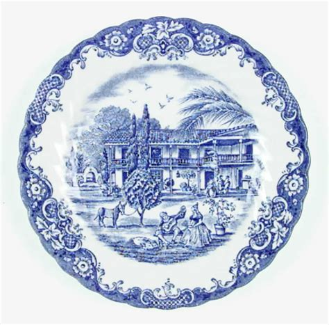 blue heritage pattern dishes johnson brothers heritage hall blue bread butter plate