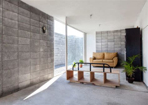 casa caja low cost concrete house designed to diy