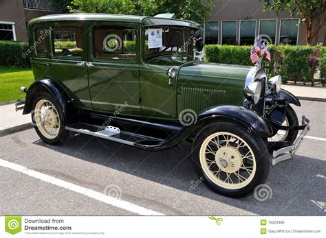 a ford modelo 1929 de ford a foto editorial imagen 15023486