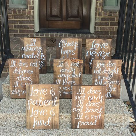 Wedding Aisle Signs by Wedding Aisle Signs Is Patient Is Wood Signs